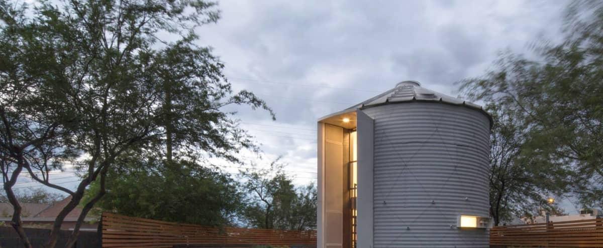 Unique Hidden Gem Silo Home   Perfect for Intimate Events in Phoenix Hero Image in Garfield, Phoenix, AZ
