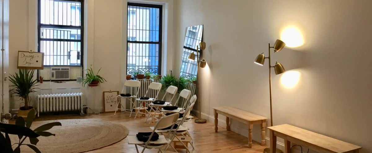Full Floor Studio Sanctuary in Midtown in New York City Hero Image in Midtown, New York City, NY