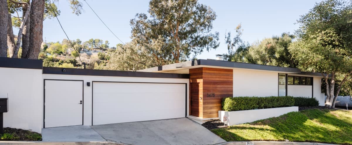 Updated Mid Century Modern Home with Canyon Views and Beautiful Outdoor Spaces. in SHERMAN OAKS Hero Image in Sherman Oaks, SHERMAN OAKS, CA