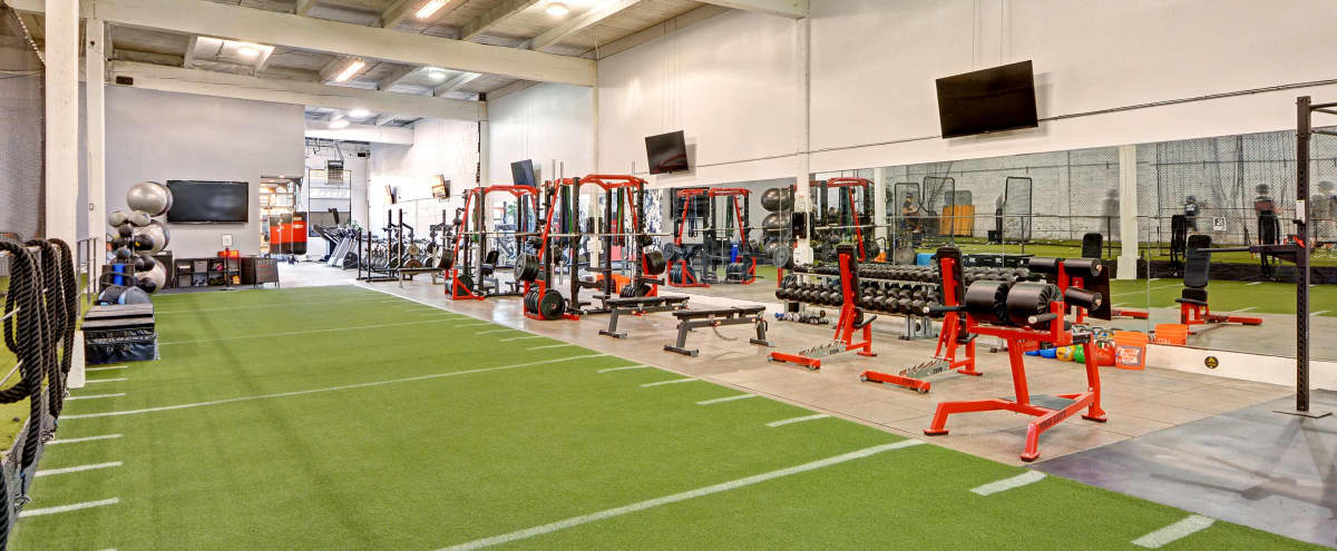 Downtown Spacious Fitness Facility with 120 yards of Speed Turf in Seattle Hero Image in Greater Duwamish, Seattle, WA