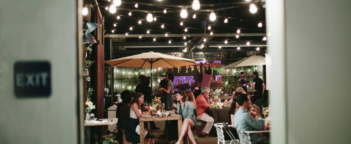 Charming Back Patio Outdoor Venue In Noho Arts District North