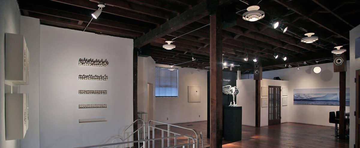 NYC Style Loft Art Gallery in Los Angeles Hero Image in Miracle Mile, Los Angeles, CA