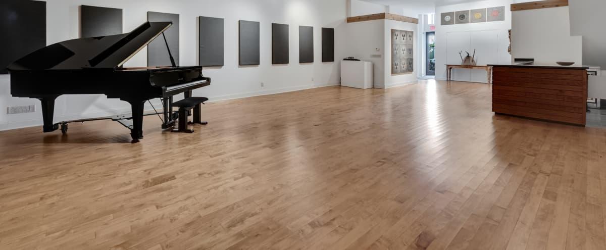 Spacious, sophisticated Brooklyn studio/gallery. in Brooklyn Hero Image in Prospect Heights, Brooklyn, NY