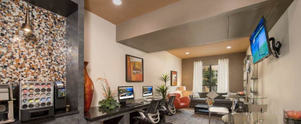 Tech Lounge and Workspace at The Domain in Austin Hero Image in North Burnet–Gateway, Austin, TX
