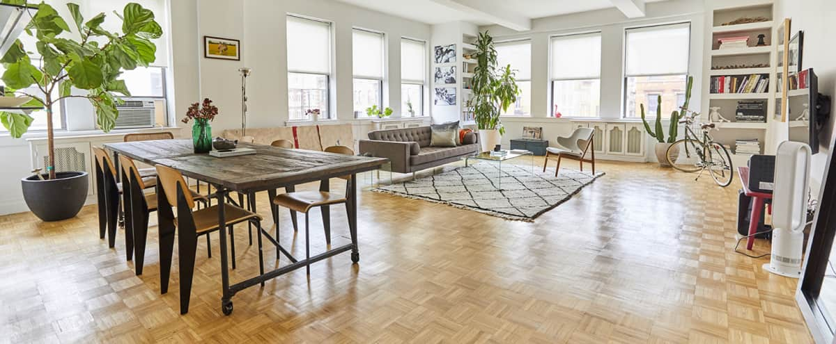 Sun-drenched East Village 2000 sq./ft apartment in New York City Hero Image in Bowery, New York City, NY