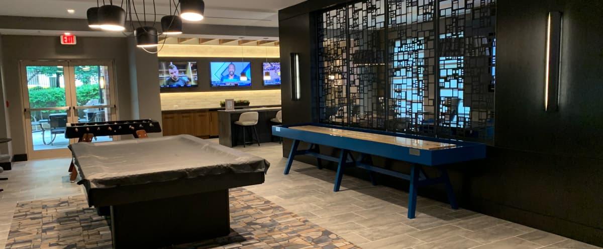 Modern Private Lounge/Luxury Clubroom in Arlington Hero Image in North Rosslyn, Arlington, VA