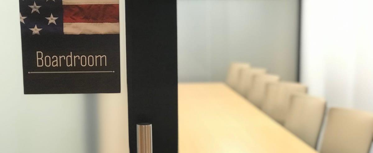 Modern, Open Boardroom in Irving Hero Image in Las Colinas, Irving, TX