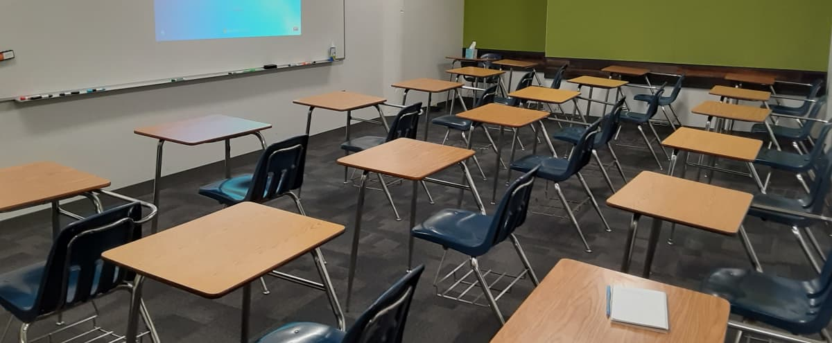 Training Classroom with Personal Desks | #9 in Portland Hero Image in Northeast Portland, Portland, OR
