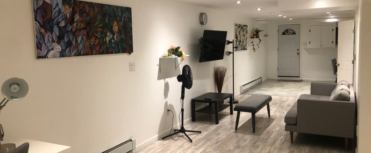 Cozy creative space in town house basement in brooklyn Hero Image in East Flatbush, brooklyn, NY
