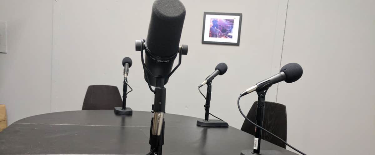 Large Podcast Studio With Video Capacity in North Hollywood Hero Image in North Hollywood, North Hollywood, CA