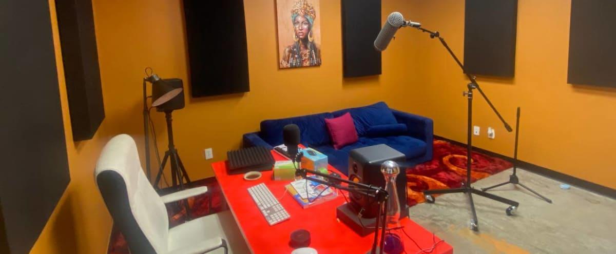 Podcast Studio/Room in Dallas Hero Image in Design District, Dallas, TX