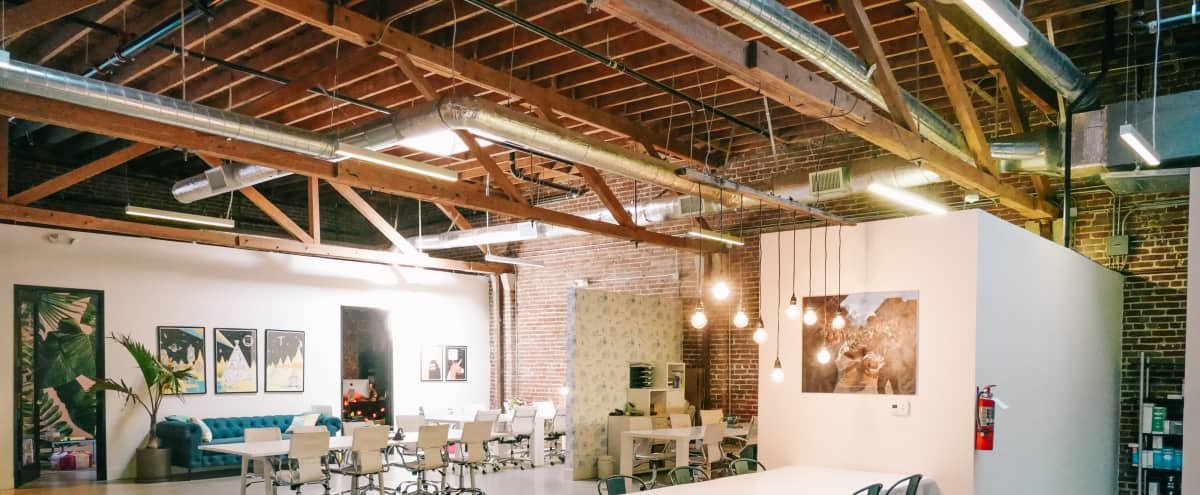Spacious DTLA Office/Event Space With Back Patio in Los Angeles Hero Image in Downtown, Los Angeles, CA