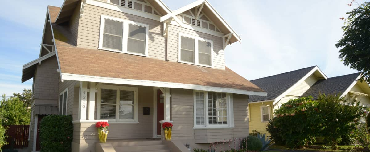 Craftsman style home close to USC in Los Angeles Hero Image in South Los Angeles, Los Angeles, CA