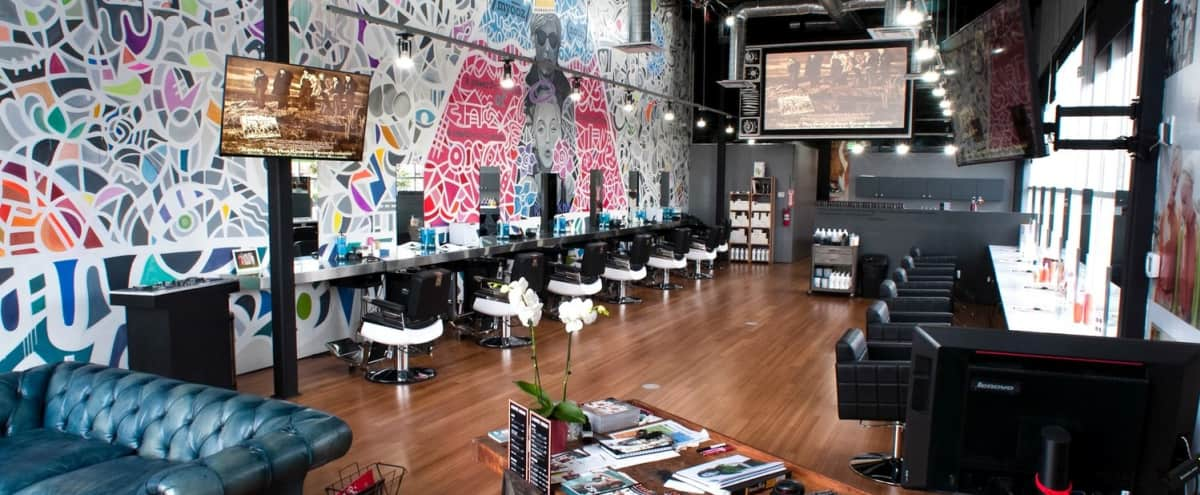Modern-Vintage Barber/Beauty Salon in Culver City Hero Image in Clarkdale, Culver City, CA