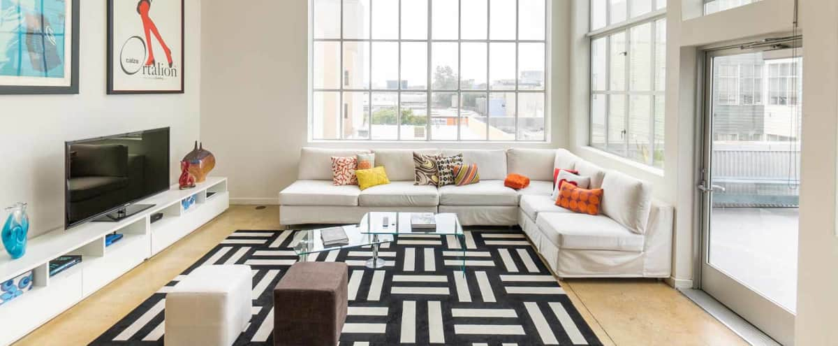 1,400 ft² Modern, Luxurious SOMA Loft for Meetings in San Francisco Hero Image in South of Market, San Francisco, CA