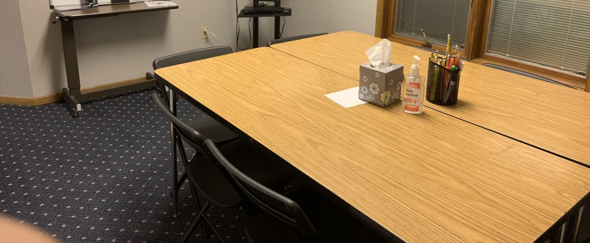 Classroom Meeting Space Centrally Located less than 20 minutes to Downtown Minneapolis in Fridley Hero Image in undefined, Fridley, MN