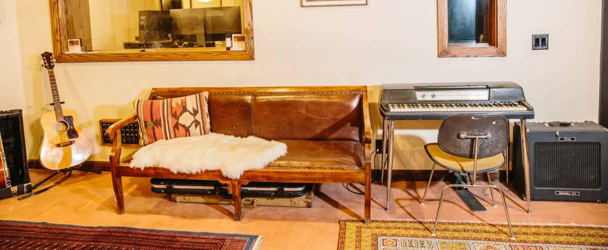 Spanish/Midcentury Inspired Recording Studio with Private Patio Oasis. in Los Angeles Hero Image in Northeast Los Angeles, Los Angeles, CA