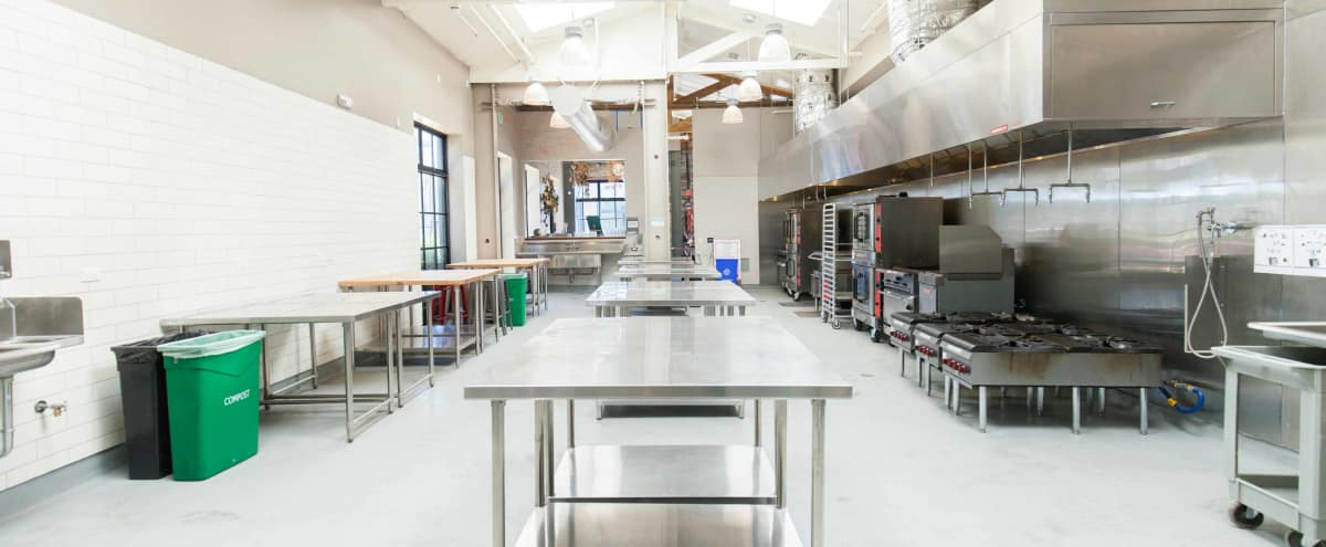 2,000 Sq Ft Brand New Commercial Kitchen in Oakland Hero Image in Northgate - Waverly, Oakland, CA
