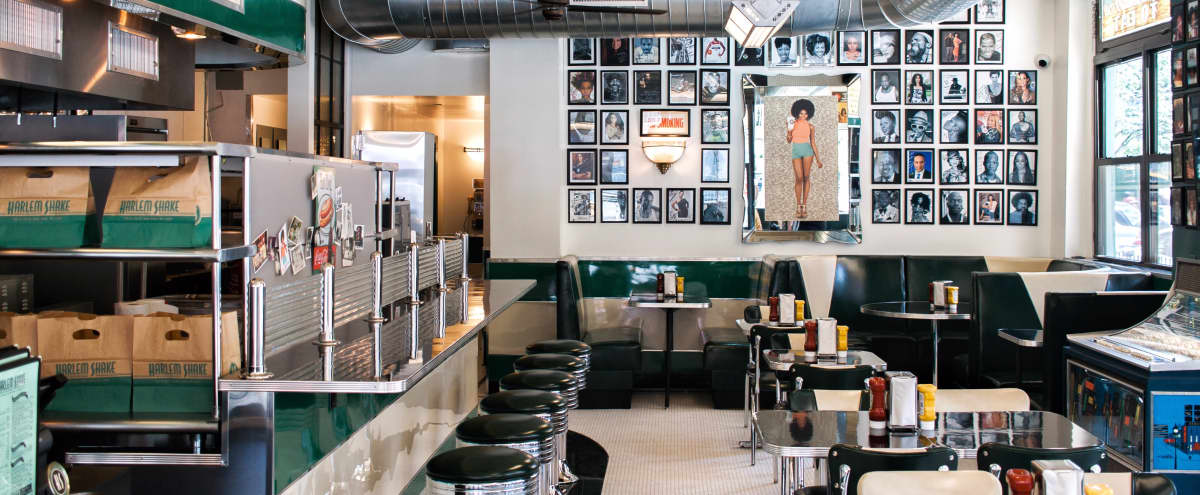 east harlem gem retro diner feel new york ny production peerspace