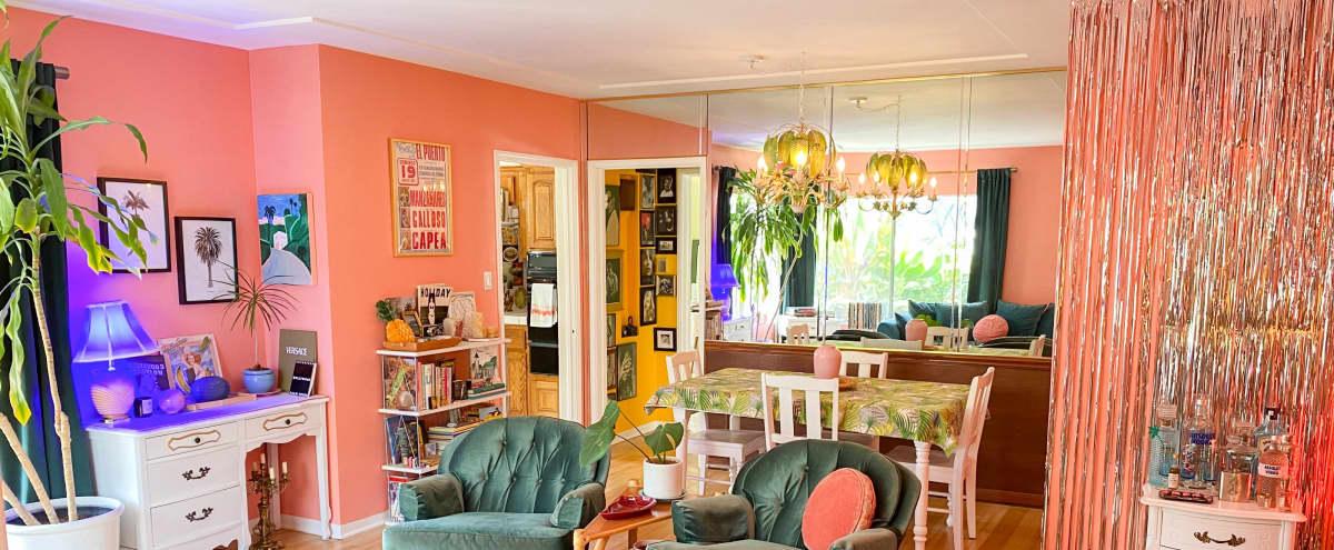 Art Deco House with Sunken Garden, Terrace & Photo Studio in Los Angeles Hero Image in undefined, Los Angeles, CA