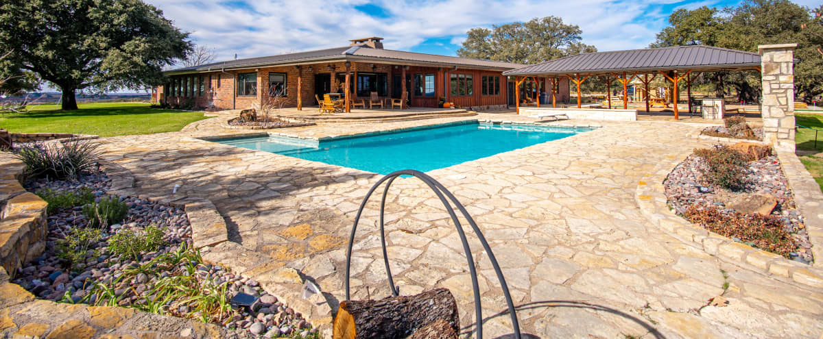 Rural Ranch with Amazing Views, Pool + Indoor & Outdoor Space for Private Events in Lipan Hero Image in undefined, Lipan, TX