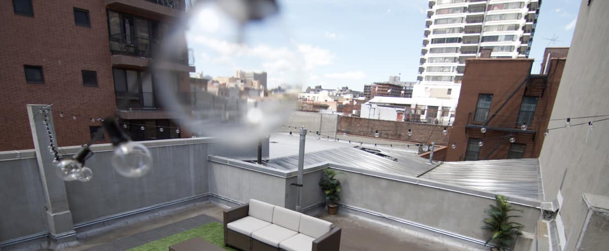 Open Dynamic Studio with Beautiful Roofdeck in New York Hero Image in Upper Manhattan, New York, NY