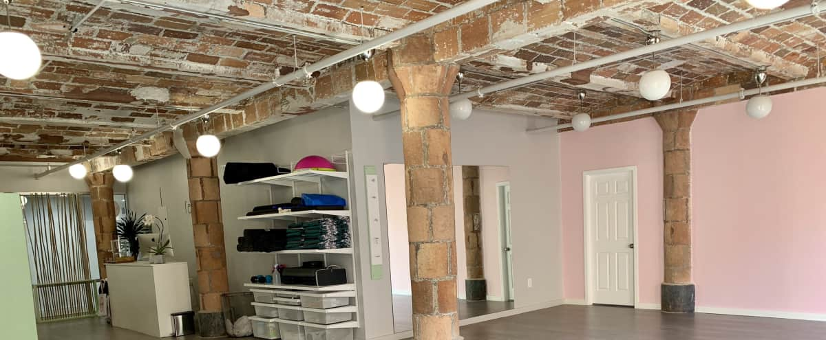 DUMBO Spacious Open Loft with Excellent Natural Light for Yoga, Massage, Dance, Welness in Brooklyn Hero Image in Vinegar Hill, Brooklyn, NY