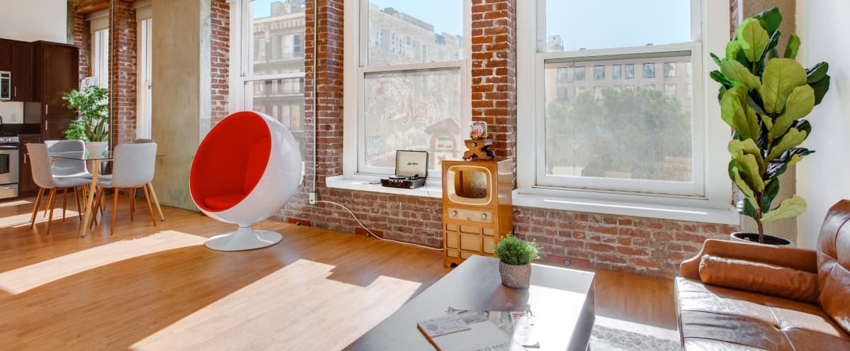 Pan American Loft.  Production studio / creative space for meetings, photo shoot and video productions in the heart of Art district in Los Angeles Hero Image in Central LA, Los Angeles, CA