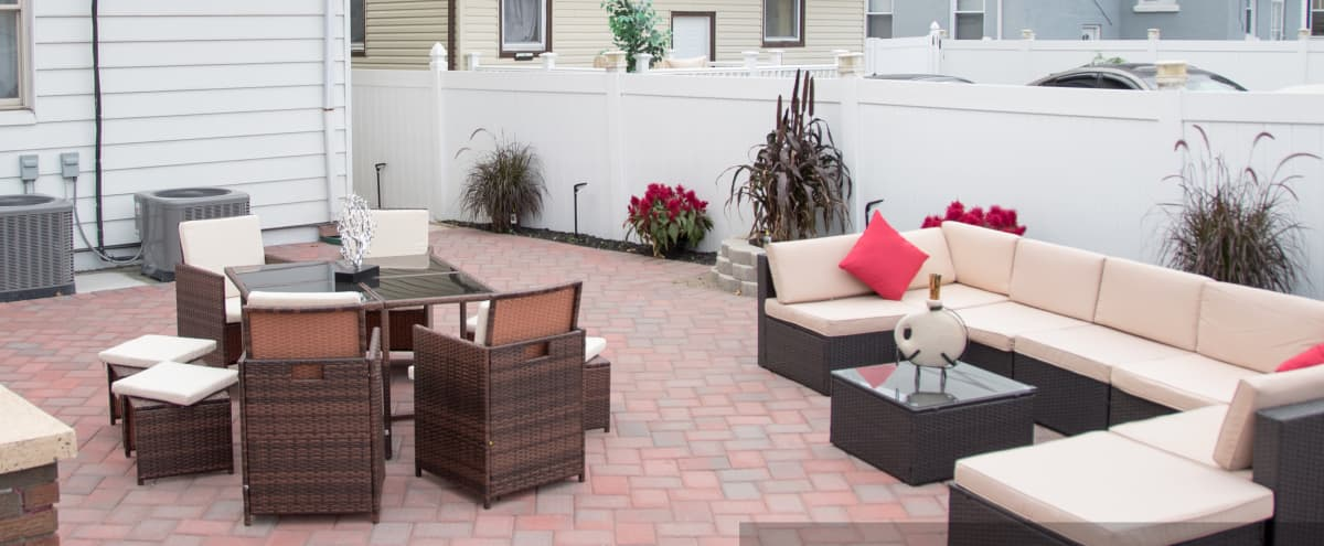 Relaxed Backyard Lounge for Outdoor Shoots in Irvington Hero Image in undefined, Irvington, NJ