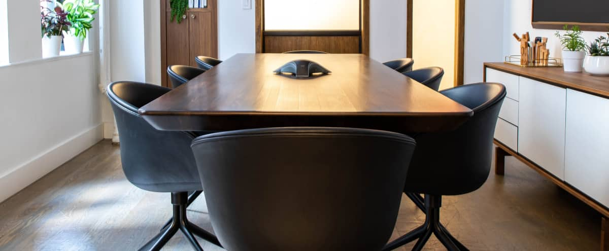 Stylish Bright Meeting Space in New York Hero Image in Midtown, New York, NY