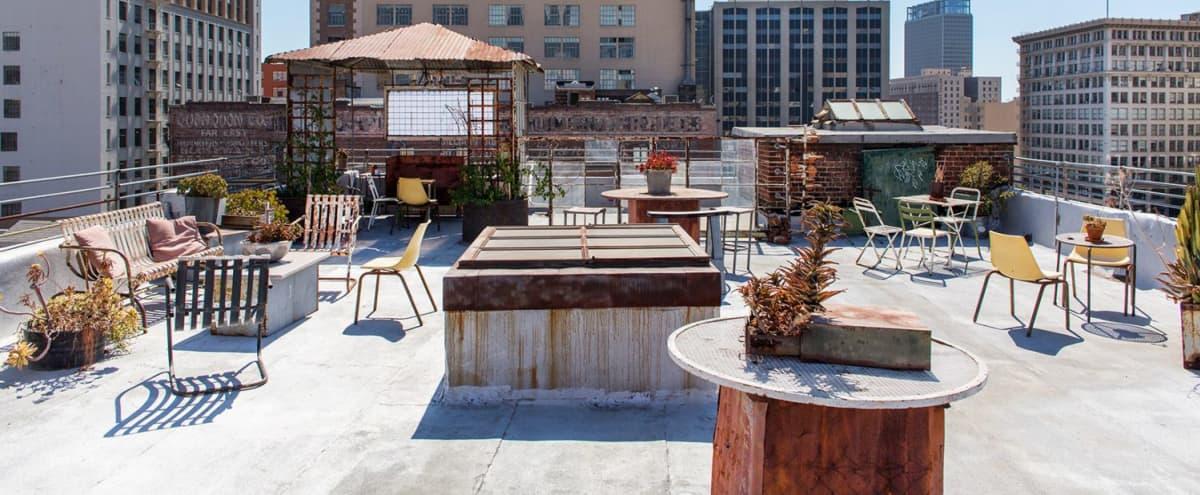 Downtown LA Urban Rooftop in Los Angeles Hero Image in Downtown, Los Angeles, CA