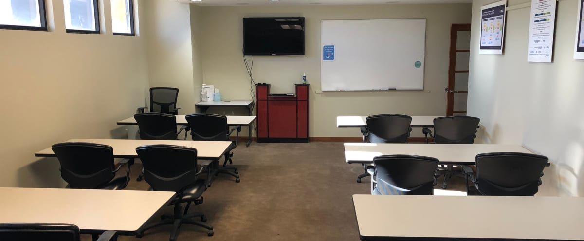 Classroom/Meeting Room near the Federal Center and St. Anthony's Hospital (Medium) in Denver Hero Image in Union Square, Denver, CO
