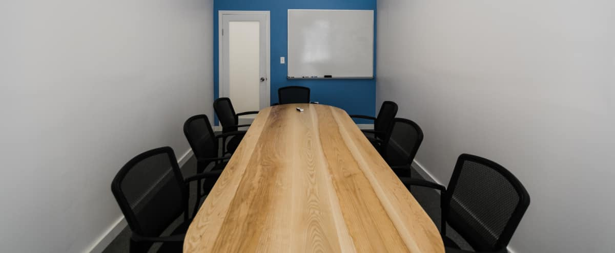 8-Person Private Conference/Classroom (#11) in New York Hero Image in Midtown, New York, NY