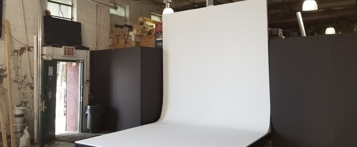 Studio Space With Cyc Wall Available for Rent in Brooklyn Hero Image in Greenpoint, Brooklyn, NY