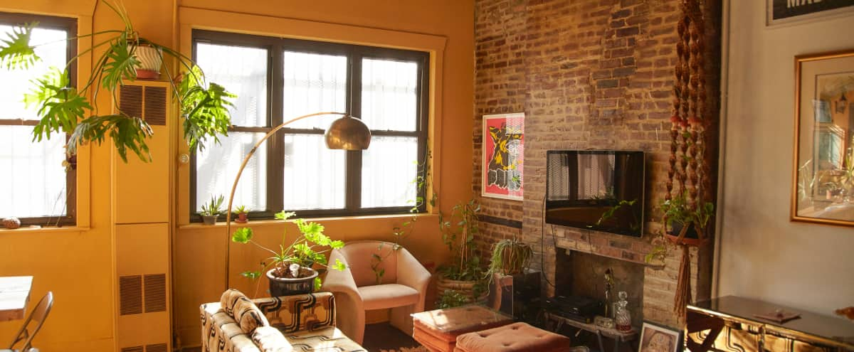 Swanky Sexy Cool Living Space & Studio (VOGUE Location) in Brooklyn Hero Image in Bedford-Stuyvesant, Brooklyn, NY
