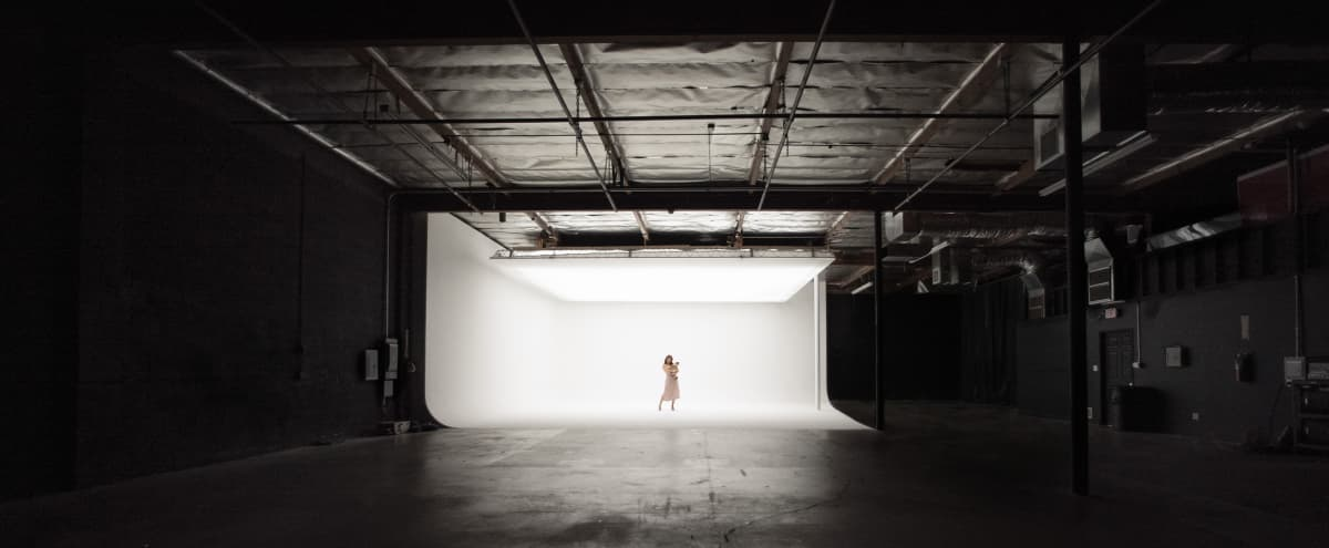 **LIMITED TIME OFFER** N. Hollywood Film/Photo Studio w/ White Cyc & Top-Light Soft-Box! in North Hollywood Hero Image in Valley Glen, North Hollywood, CA