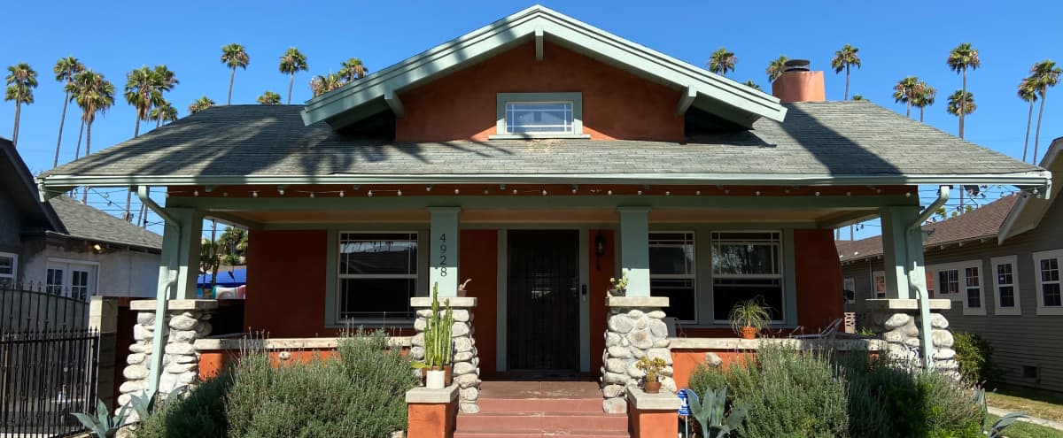 Charming Craftsman Home With Palm Trees For Days! in Los Angeles Hero Image in South Los Angeles, Los Angeles, CA