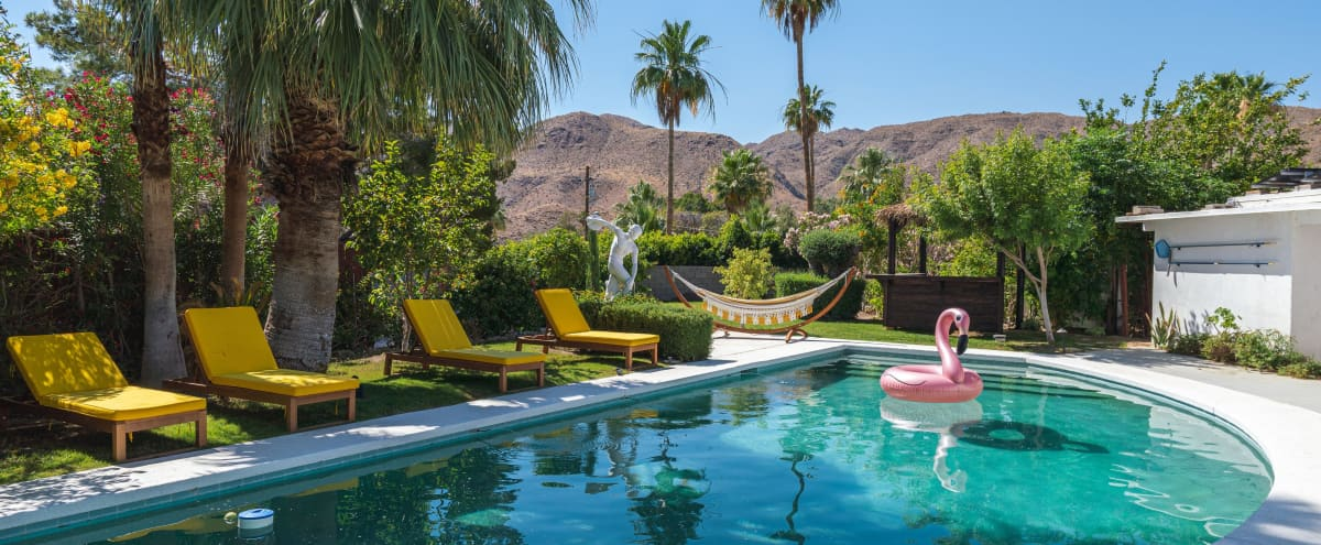 Vintage Modern Desert Dream House in cathedral city Hero Image in undefined, cathedral city, CA