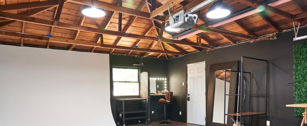 Clean and Cozy Cyclorama Studio in San Leandro Hero Image in Broadmoor, San Leandro, CA