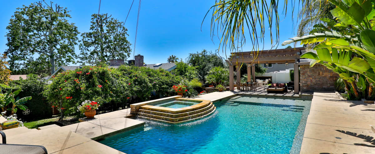 Modern & Cozy Equestrian Country Home with Large Outdoor Pool in Shadow Hills Hero Image in Shadow Hills, Shadow Hills, CA