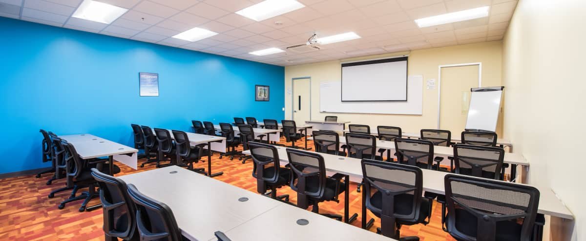 Modern Classroom / Conference Room in Columbia Hero Image in Town Center, Columbia, MD