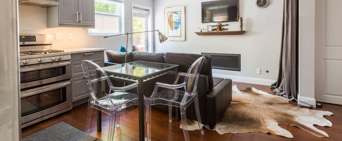 Sunlit Garden Suite in Presidio Heights, has seating for 6-8 in San Francisco Hero Image in Presidio Heights, San Francisco, CA