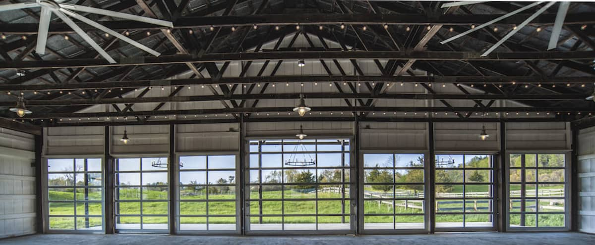 Renovated Horse Arena in Barn in Germantown Hero Image in undefined, Germantown, NY
