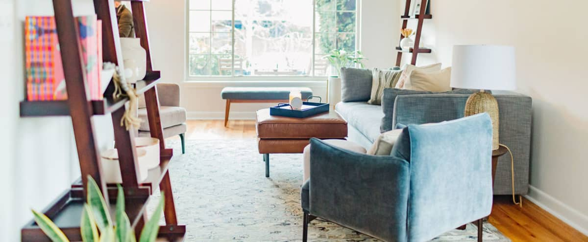 The Ballard Socialite: Bright and Airy with a Midcentury Design in Seattle Hero Image in Ballard, Seattle, WA