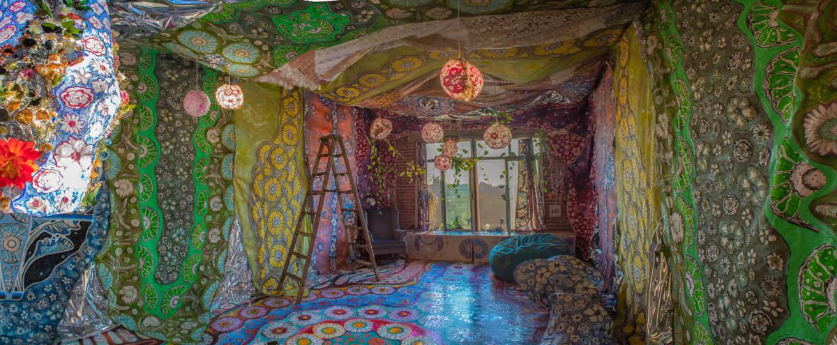 Dream-like Immersive Psychedelic Colorful Artist Loft DTLA in Los Angeles Hero Image in Central LA, Los Angeles, CA