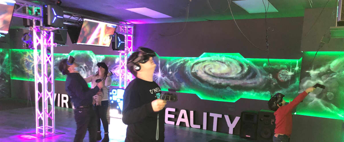 Virtual Reality Gaming Center in Los Angeles Hero Image in Sawtelle, Los Angeles, CA