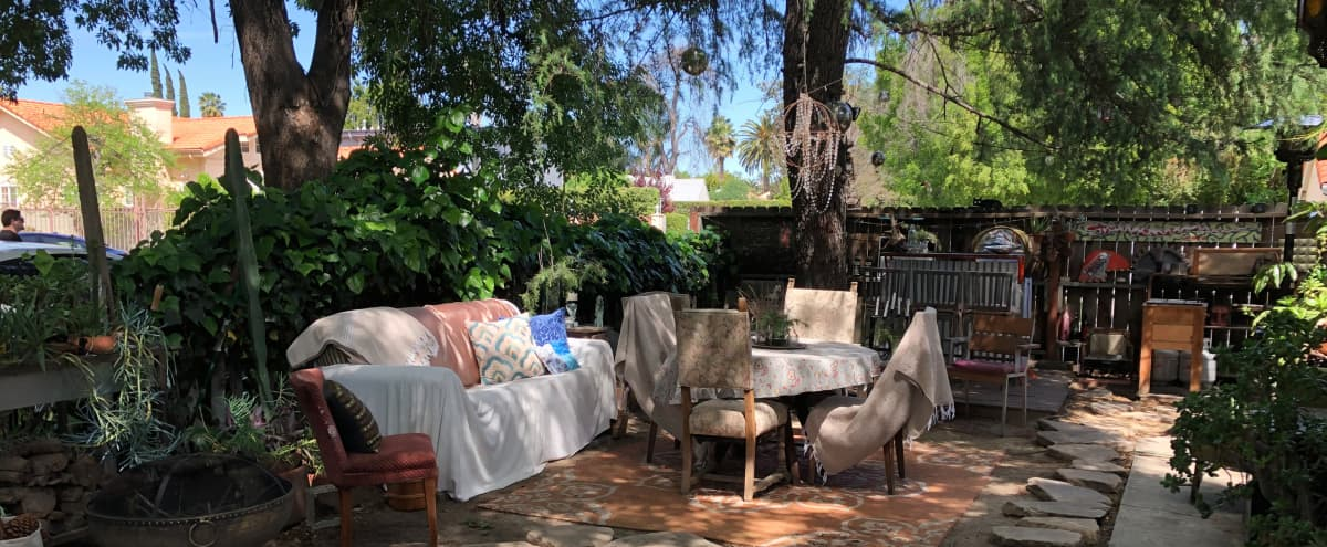 Urban Cabin Bohemian Outdoor Living Space in sherman oaks Hero Image in Sherman Oaks, sherman oaks, CA