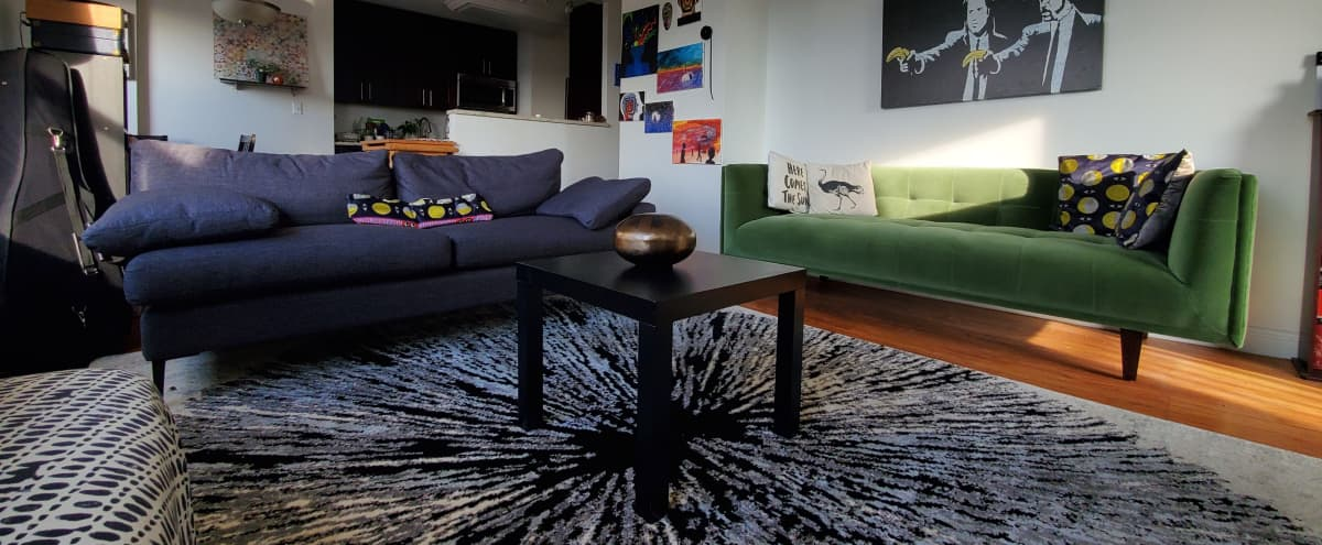 Unique 2br Apartment with Beautiful Skyline Views! in New York Hero Image in Midtown, New York, NY