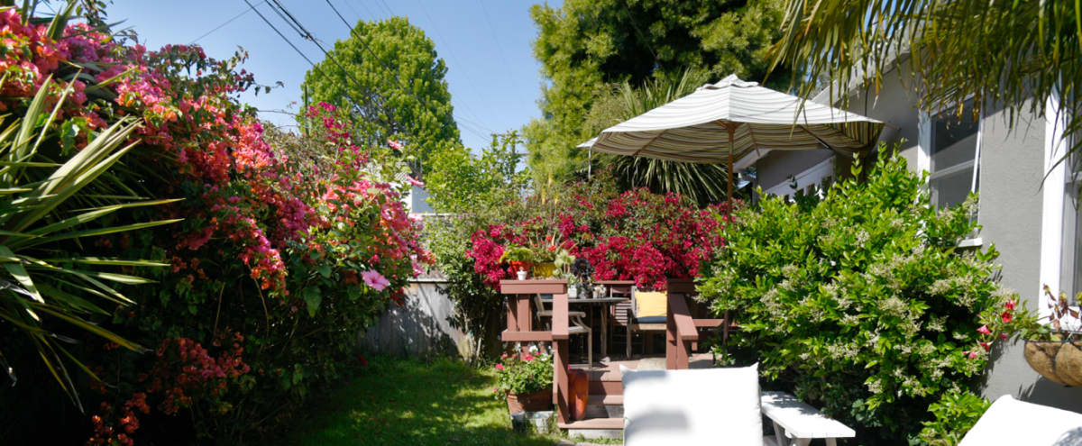 Affordable Boho Venice Home with Lush Private Garden in Venice Hero Image in Venice, Venice, CA
