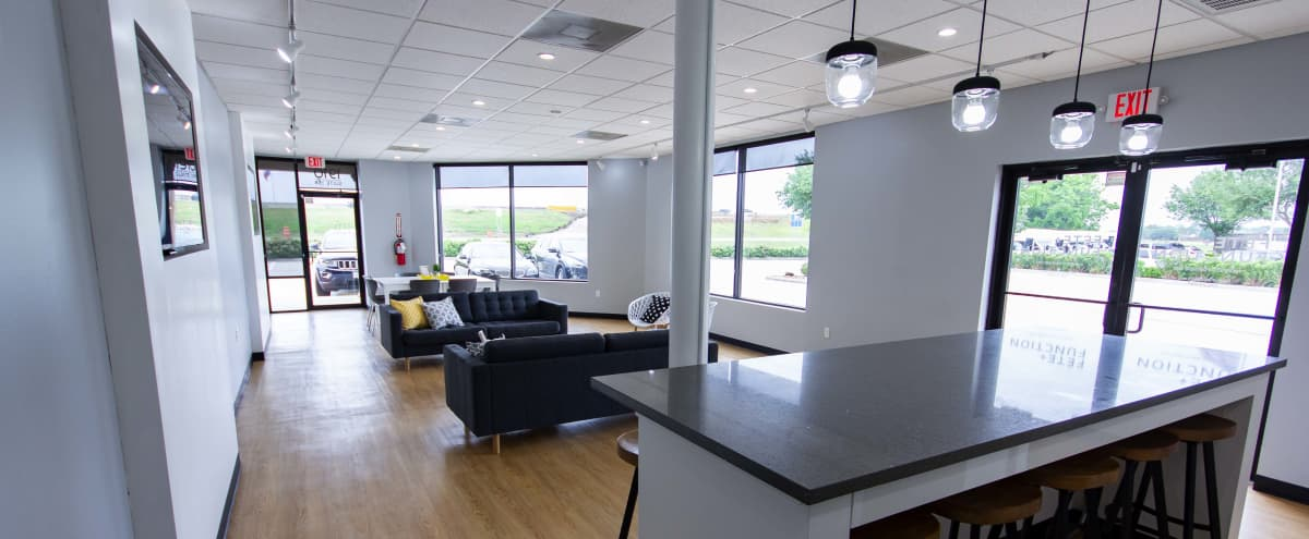 Clean, Modern, Furnished Space with Natural Lighting for Hosting small Social Gatherings in Pearland Hero Image in undefined, Pearland, TX